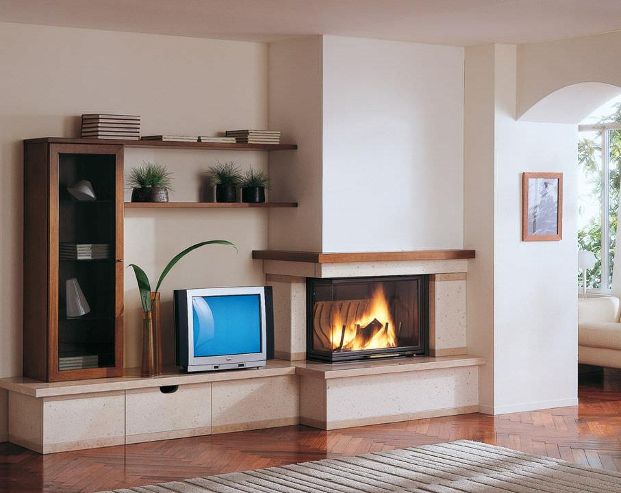 Camini a legna termocamini il caminetto - Rivestimenti per caminetti a legna ...